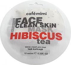 Düfte, Parfümerie und Kosmetik Maske-Peeling mit Karkade und Jasmin - Cafe Mimi Face Mask