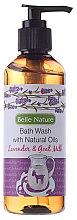 Düfte, Parfümerie und Kosmetik Duschgel mit Lavendel und Ziegenmilch - Belle Nature Bath Wash Lavender&Goat Milk