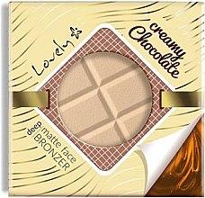 Düfte, Parfümerie und Kosmetik Gesichtsbronzer - Lovely Creamy Chocolate Deep Matte Bronze