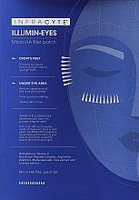 Düfte, Parfümerie und Kosmetik Augenpatches mit Retinol und Vitamin C - Infracyte Illumin-eyes Micro Ha Filler Patch