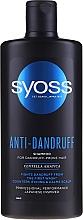 Düfte, Parfümerie und Kosmetik Anti-Schuppen Shampoo - Syoss Anti-Dandruff Centella Asiatica Shampoo