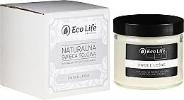 """Düfte, Parfümerie und Kosmetik Natürliche Soja-Duftkerze im Glas """"Waldbeeren"""" - Eco Life Candles"""