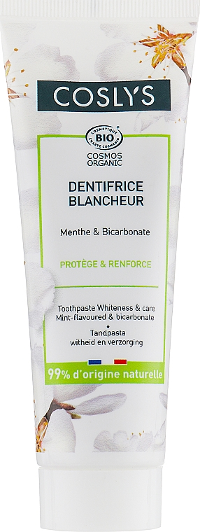 Aufhellende Zahnpasta mit Propolis und Minze - Coslys Toothpaste Whiteness & Care — Bild N1
