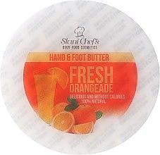 """Düfte, Parfümerie und Kosmetik Erfrischende, feuchtigkeitsspendende und schützende Hand- und Fußcreme """"Frische Orangeade"""" - Stani Chef's Fresh Orangeade Hand Foot Butter"""