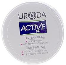 Düfte, Parfümerie und Kosmetik Halbfettige Gesichtscreme Ginseng und Allantoin - Uroda Active 90