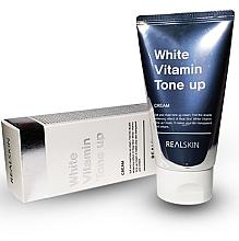 Düfte, Parfümerie und Kosmetik Sonnenschutzcreme für Gesicht und Körper SPF 50 - Real Skin White Vitamin Tone-Up Cream
