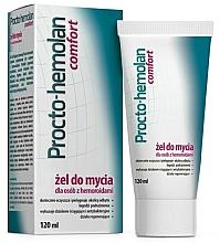 Düfte, Parfümerie und Kosmetik Reinigungsgel für die Intimhygiene gegen Hämorrhoiden - Aflofarm Procto-Hemolan Comfort Cleaning Gel