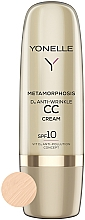 Düfte, Parfümerie und Kosmetik Anti-Falten CC Creme mit Vitamin D SPF 10 - Yonelle Metamorphosis D3 Anti Wrinkle CC Cream SPF10