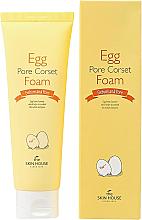 Düfte, Parfümerie und Kosmetik Gesichtsschaum mit Eiextrakt - The Skin House Egg Pore Corset Foam Cleaner