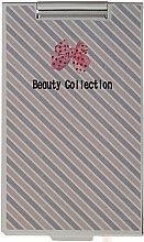 Düfte, Parfümerie und Kosmetik Kosmetischer Taschenspiegel quadratisch 85574 in diagonalen Linien - Top Choice Beauty Collection Mirror
