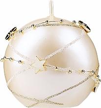 Düfte, Parfümerie und Kosmetik Dekorative Kerze Christmas Garland gold 8 cm - Artman Christmas Garland