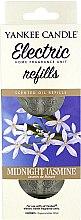 Düfte, Parfümerie und Kosmetik Nachfüller Midnight Jasmine für elektrischen Duftstecker - Yankee Candle Midnight Jasmine Scent Oil Refills