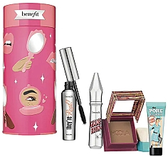 Düfte, Parfümerie und Kosmetik Make-up Set - Benefit Bring Your Own Beauty Set (Mascara 8g + Augenbrauengel 3g + Bronzierpuder 8g + Gesichtsprimer 7.5ml)