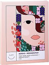 Düfte, Parfümerie und Kosmetik Anti-Aging & regenerierende (Botox) Gesichtsmaske mit Liposomen (Aromatherapie) - You & Oil Triple Pack Face Mask Botoks + Regeneration With Liposomes + Aromatherapy