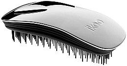 Düfte, Parfümerie und Kosmetik Haarbürste - Ikoo Home Metallic Oyster Black