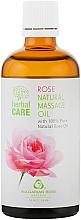Düfte, Parfümerie und Kosmetik Massageöl für den Körper mit natürlichem Rosenöl - Bulgarian Rose Herbal Care