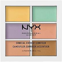 Düfte, Parfümerie und Kosmetik Concealer-Palette - NYX Professional Makeup Color Correcting Palette