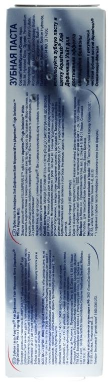 Aufhellende Zahnpasta High Definition - Aquafresh Hiqh Definition White — Bild N2