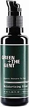 Düfte, Parfümerie und Kosmetik Feuchtigkeitsspendende Gesichtscreme mit Aloe Vera für Männer - Green + The Gent Moisturizing Cream