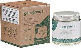 Düfte, Parfümerie und Kosmetik Natürliche und mineralstoffreiche Zahnpasta mit Minzgeschmack - Georganics Spearmint Natural Toothpaste