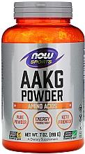 Düfte, Parfümerie und Kosmetik Nahrungsergänzungsmittel AAKG in Pulverform - Now Foods Sports AAKG Pure Powder