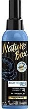 Düfte, Parfümerie und Kosmetik Feuchtigkeitsspendendes Haarspray mit kaltgepresstem Kokosöl - Nature Box Coconut Oil Milky Moisture Spray