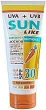Düfte, Parfümerie und Kosmetik Tief feuchtigkeitsspendende Sonnenschutzlotion für den Körper mit Panthenol SPF 30 - Sun Like Sunscreen Lotion Panthenol