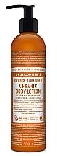 Düfte, Parfümerie und Kosmetik Pflegende und beruhigende Hand- und Körperlotion mit Orange-Lavendel - Dr. Bronner's Orange Lavender Organic Hand & Body Lotion