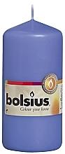 Düfte, Parfümerie und Kosmetik Stumpenkerze blau 120x58 mm - Bolsius Candle