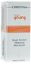 Düfte, Parfümerie und Kosmetik Make-up Entferner - Christina Forever Young Dual Action Make Up Remover