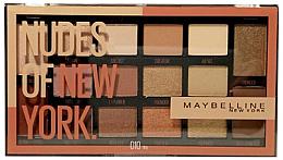 Düfte, Parfümerie und Kosmetik Lidschattenpalette - Maybelline Nudes of New York Eye Palette