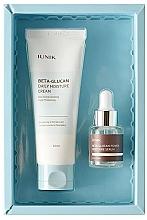 Düfte, Parfümerie und Kosmetik Gesichtspflegeset - iUNIK Beta Glucan Edition Skin Care Set (Gesichtscreme 60ml + Beruhigendes Gesichtsserum 15ml)