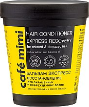 """Düfte, Parfümerie und Kosmetik Haarspülung """"Express Recovery"""" für gefärbtes und geschädigtes Haar - Cafe Mimi Conditioner"""