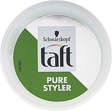 Düfte, Parfümerie und Kosmetik Haarpaste Mittlerer Halt - Schwarzkopf Taft Pure Styler Medium Hold