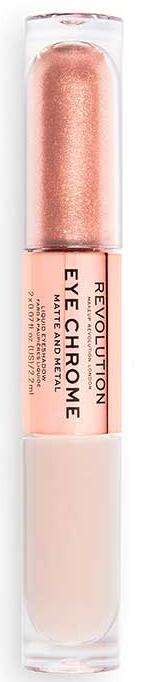 Doppelseitiger flüssiger Matte & Metal Lidschatten - Makeup Revolution Eye Chrome Liquid Eyeshadow