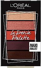 Düfte, Parfümerie und Kosmetik Lidschattenpalette - L'Oreal Paris La Petite Palette Maximalist Eyeshadow