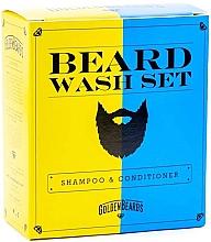 Düfte, Parfümerie und Kosmetik Haarpflegeset - Golden Beards Beard Wash Set (Shampoo 100ml + Conditioner 100ml)