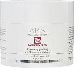Düfte, Parfümerie und Kosmetik Gesichtspeeling mit gefriergetrockneten Himbeeren - APIS Professional Raspberry Glow