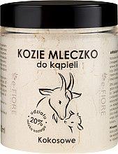 Düfte, Parfümerie und Kosmetik Ziegenmilch zum Baden mit Kokosnuss - E-Fiore Coconut Bath Milk