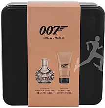 Düfte, Parfümerie und Kosmetik James Bond 007 for Women II Set - Duftset (Eau de Parfum 30ml + Körperlotion 50ml)