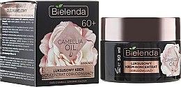 Düfte, Parfümerie und Kosmetik Luxuriöses regenerierendes Tages- und Nachtcreme-Konzentrat mit Kamelienöl 60+ - Bielenda Camellia Oil Luxurious Rebuilding Cream 60+