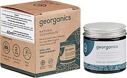 Düfte, Parfümerie und Kosmetik Natürliche Zahnpasta mit englischer Pfefferminze - Georganics English Peppermint Natural Toothpaste