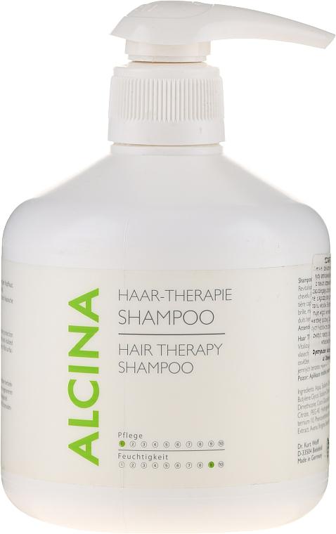 Mildes Shampoo für Haar und Kopfhaut - Alcina Hair Care Haar Therapie Shampoo — Bild N3