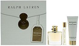 Düfte, Parfümerie und Kosmetik Ralph Lauren Woman By Ralph Lauren - Duftset (Eau de Parfum 50ml + Eau de Parfum 10ml + Körperlotion 75ml)