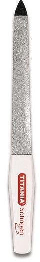 Saphir-Nagelfeile Größe 1040/7 - Titania Soligen Saphire Nail File — Bild N2