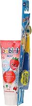 Düfte, Parfümerie und Kosmetik Mundpflegeset für Kinder 1-6 Jahre - Bobini (Zahnbürste weich + Zahnpasta 75ml))