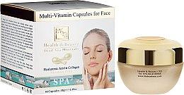 Düfte, Parfümerie und Kosmetik Multivitamin Kapseln für das Gesicht mit Kollagen und Hyaluronsäure - Health And Beauty Multi-Vitamin Capsules For Face