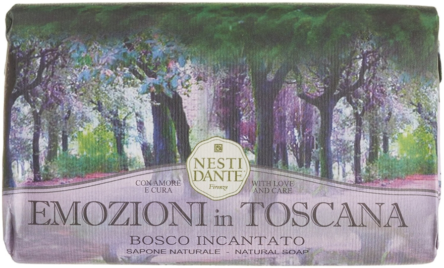 Naturseife Enchanting Forest - Nesti Dante Natural Soap Emozioni in Toscana Collection