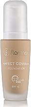 Düfte, Parfümerie und Kosmetik Perfekt deckende langanhaltende Foundation LSF 15 - Flormar Perfect Coverage Foundation