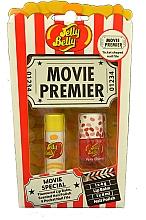 Düfte, Parfümerie und Kosmetik Lippen- und Nagelset - Jelly Belly Movie Mix Pack (Lippenbalsam 4g + Nagellack 4ml + Nagelfeile)